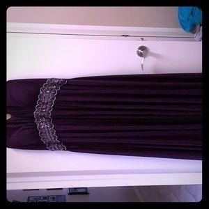 Dresses & Skirts - Purple evening gown plus size